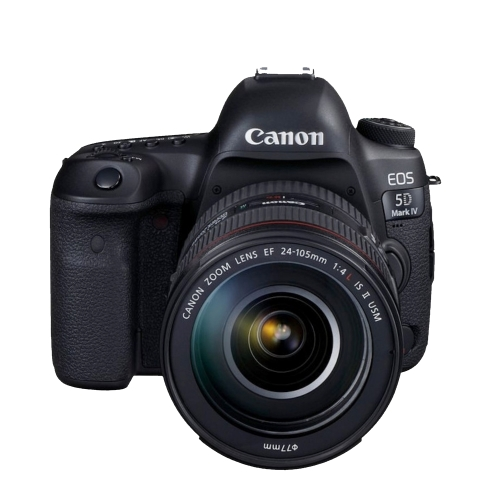 Canon EOS 5D Mark IV + 24-105mm f/4.0L IS II USM + Sandisk 64 GB GRATIS